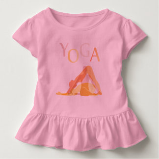 Yoga poses toddler t-shirt