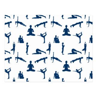 Yoga Positions Postcard