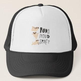 Yoga Pugs Trucker Hat