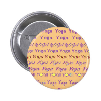 YOGA - script all over different fonts Pin