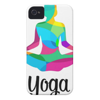 Yoga setting and fitness iPhone 4 covers