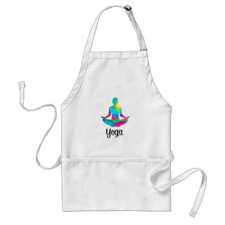 Yoga setting and fitness standard apron