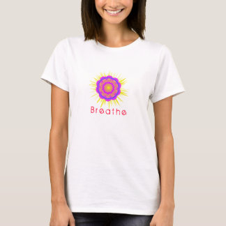 Yoga Shirt, Breathe, Symbol, Namaste T-Shirt