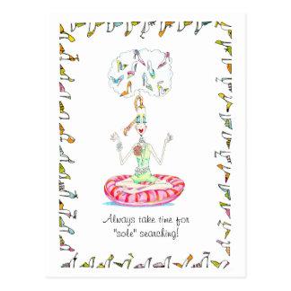 Yoga Shoes postcards