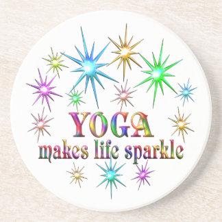 Yoga Sparkles Coaster