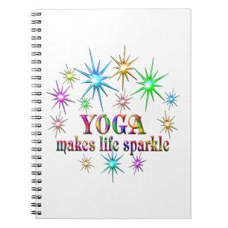 Yoga Sparkles Notebook