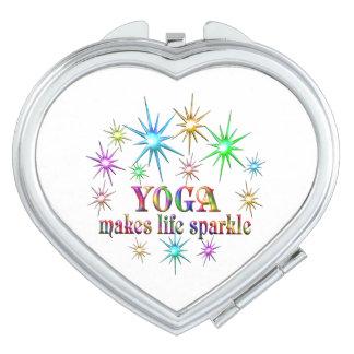 Yoga Sparkles Travel Mirrors