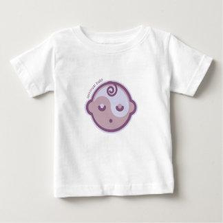 Yoga Speak Baby : Purple Spiritual Baby Chakra Baby T-Shirt