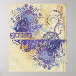Yoga Speak : Purple Peace Chakra Posters