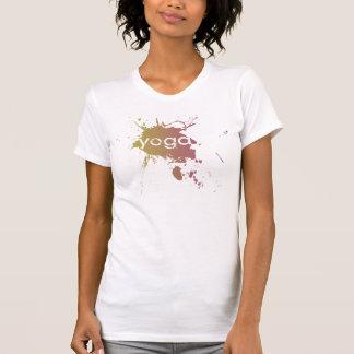 Yoga Speak : Yoga Paint Splatter T-Shirt