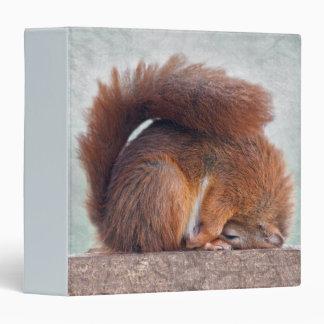 Yoga Squirrel Binder