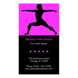 Yoga Studio Business Card Templates