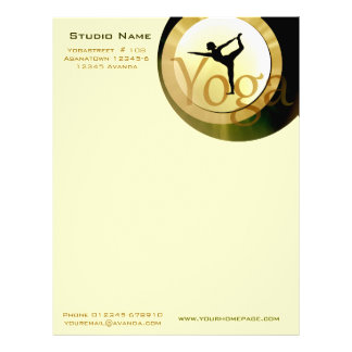 Yoga Studio letter Paper