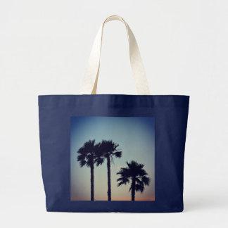 Yoga Sunset Large Tote Bag