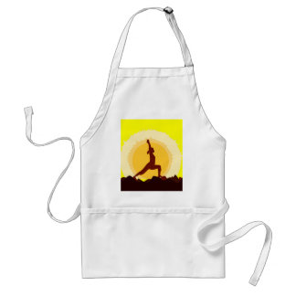 Yoga Sunset Standard Apron