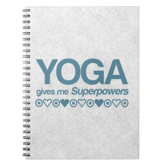 Yoga Superpowers Notebook