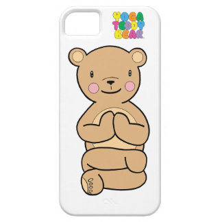 Yoga Teddy Bear Namaste Phone Case