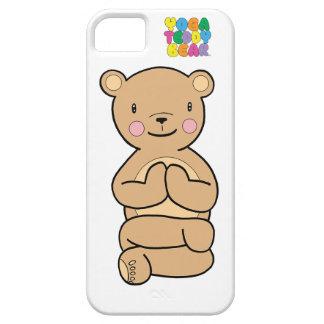 Yoga Teddy Bear Namaste Phone Case