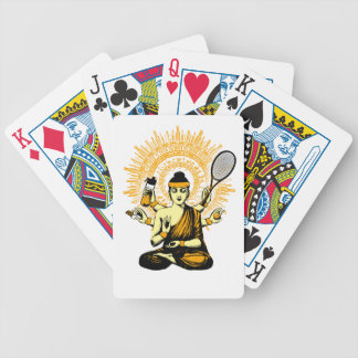 yoga tennis bicycle playing cards