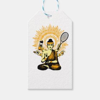 yoga tennis gift tags