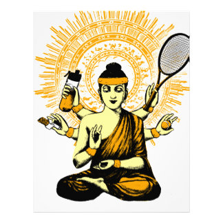 yoga tennis letterhead
