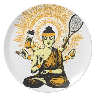 yoga tennis plate