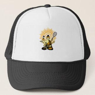 yoga tennis trucker hat