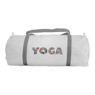 Yoga Text Gym Bag