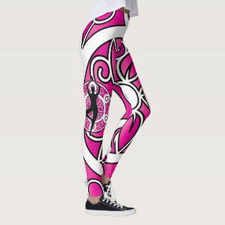 Yoga themed leggings