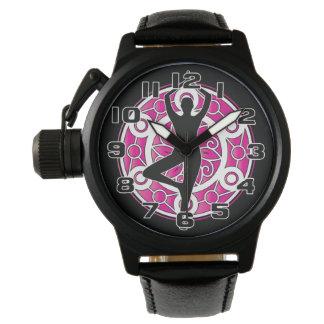 Yoga themed watch