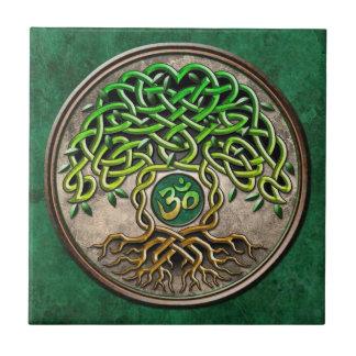 Yoga Tree of Life Tile