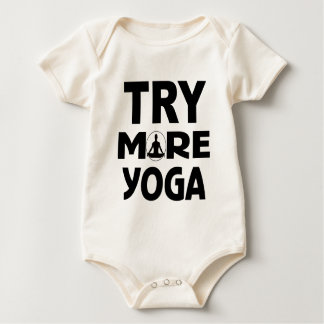 YOGA TRY BABY BODYSUIT