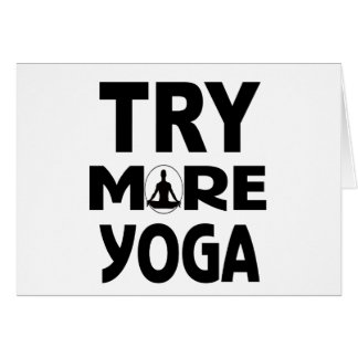 YOGA TRY CARD