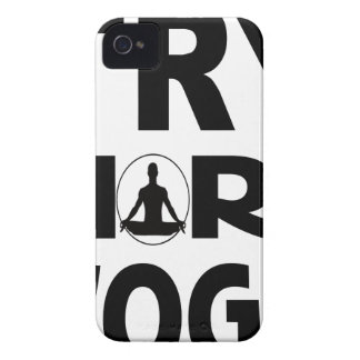 YOGA TRY Case-Mate iPhone 4 CASES