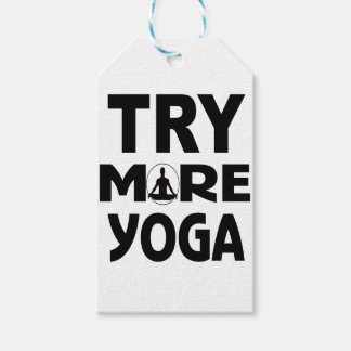 YOGA TRY GIFT TAGS