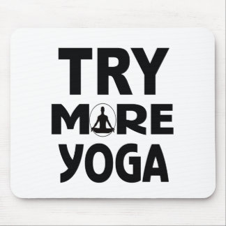 YOGA TRY MOUSE PAD