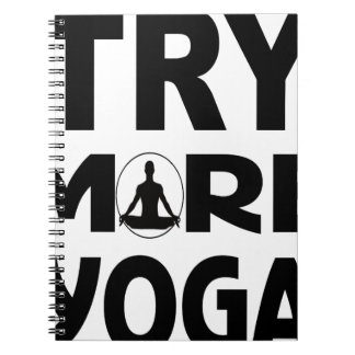 YOGA TRY SPIRAL NOTEBOOK