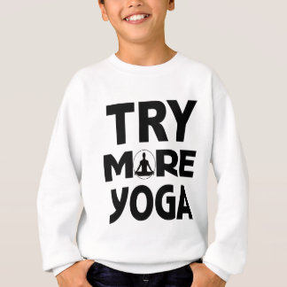 YOGA TRY SWEATSHIRT