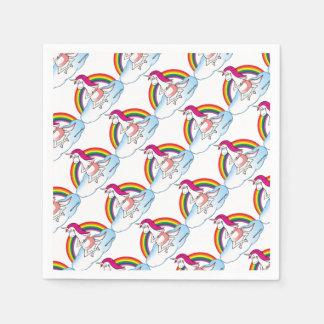 Yoga Unicorn Paper Napkins