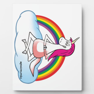 Yoga Unicorn Plaque