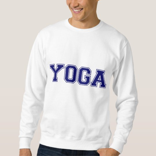 Yoga University Style Sweatshirt