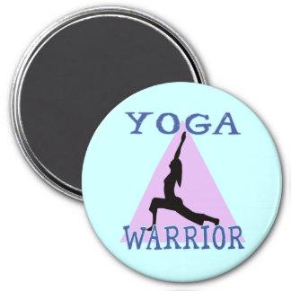 Yoga Warrior Magnet