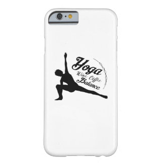 Yoga Wine Coffee Balance Funny Gift Barely There iPhone 6 Case