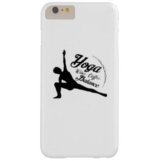 Yoga Wine Coffee Balance Funny Gift Barely There iPhone 6 Plus Case