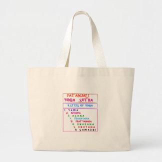 Yoga Wisdom Words Jumbo Tote Bag
