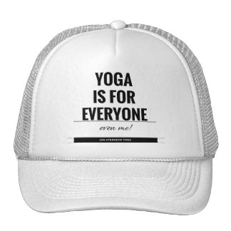 """YOGA WITH JEN"" apparel Trucker Hat"