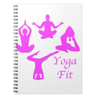 Yoga YogaFit Notebooks