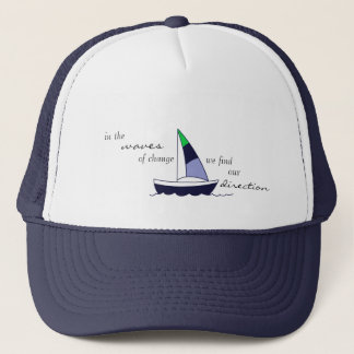 "YogaSoulShine ""Sailboat"" Trucker Hat"