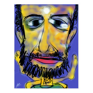 Yogi Aaron Postcard