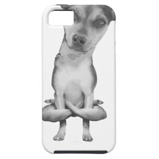 Yogi Doggie cute dog in yoga asana, cool funny iPhone 5 Case
